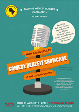 Clowns Without Borders South Africa – A Comedy Benefit Showcase